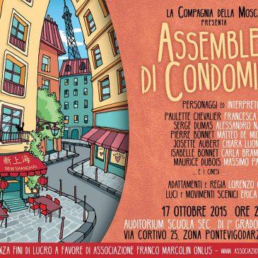"""Spettacolo teatrale """"Assemblea di Condominio"""" – Sabato 17 ottobre 2015"""