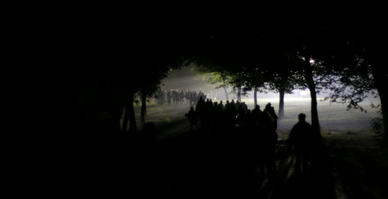 La passeggiata notturna è rimandata a data da destinarsi