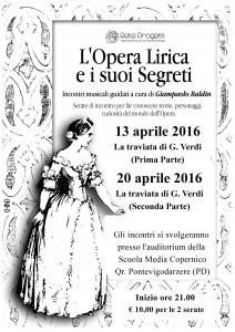 L'Opera Lirica e i suoi Segreti - La Traviata (Locandina)